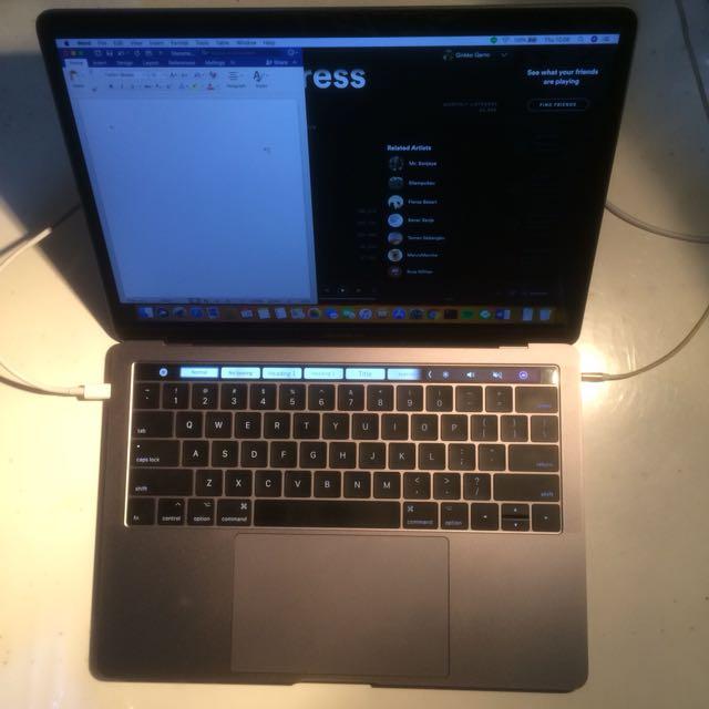 MacBook Pro MPXV2 Touch Bar 2017