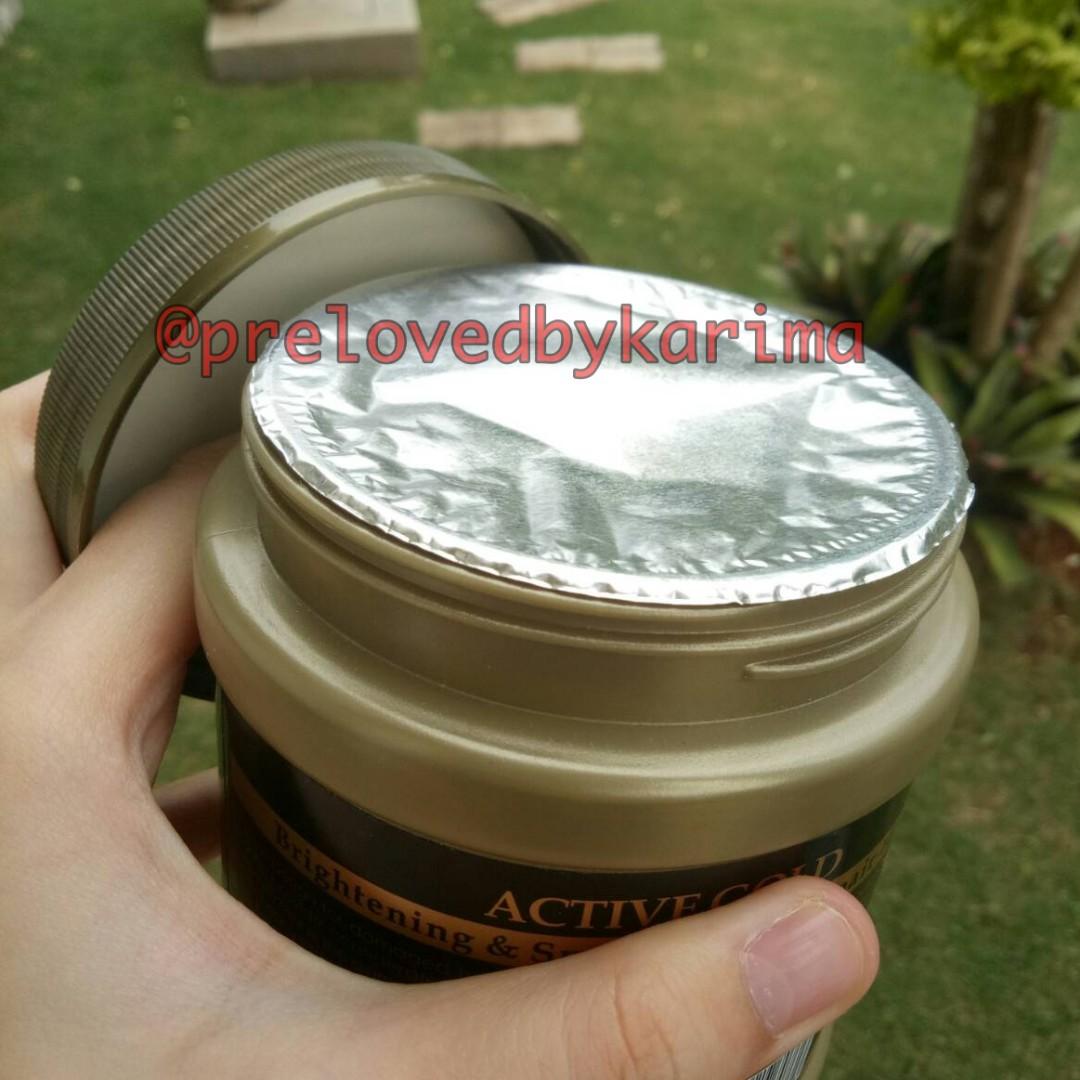 Masker Rambut 24K Active Gold Repair Hot Oil, Kesehatan & Kecantikan, Perawatan Rambut di
