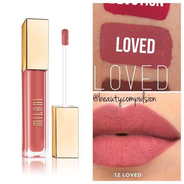 Milani Amore Matte Lip Creme Loved