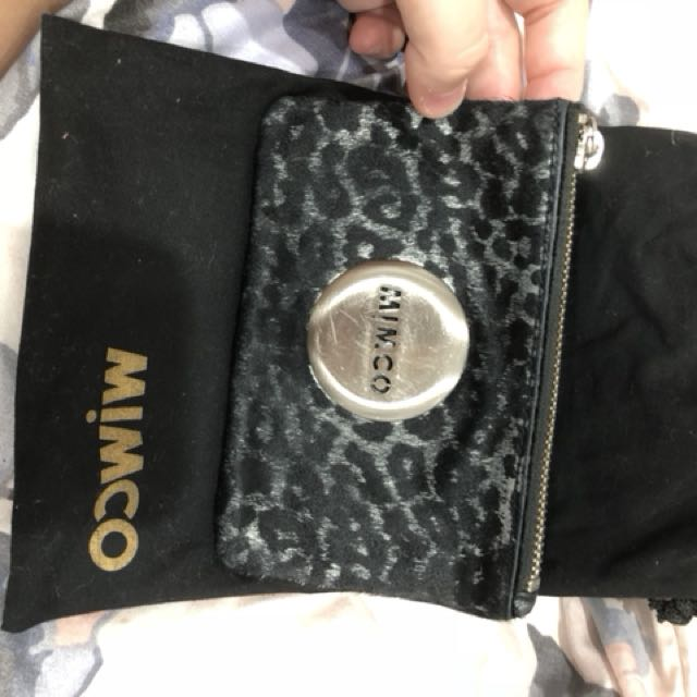 Mimco pouch