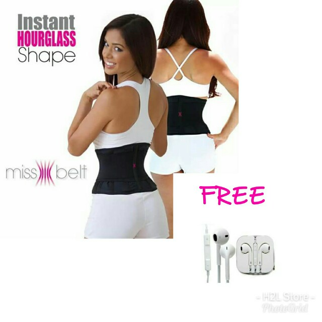 Miss belt instant hour glass shape
