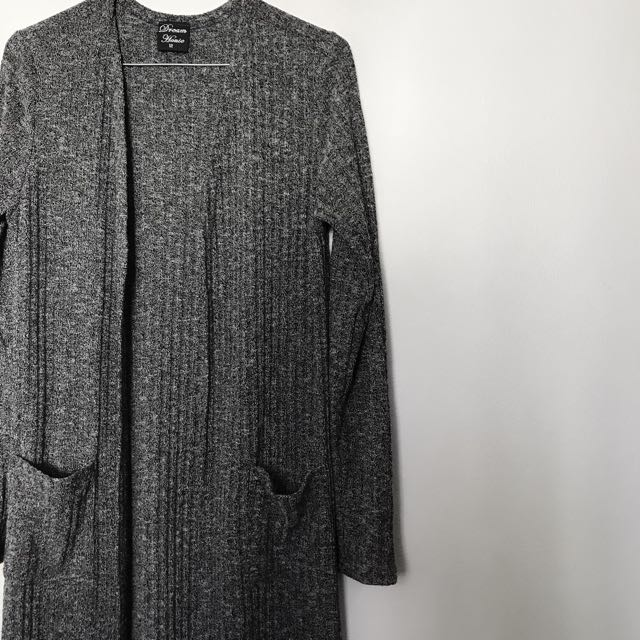 New dream house ribbed cardigan