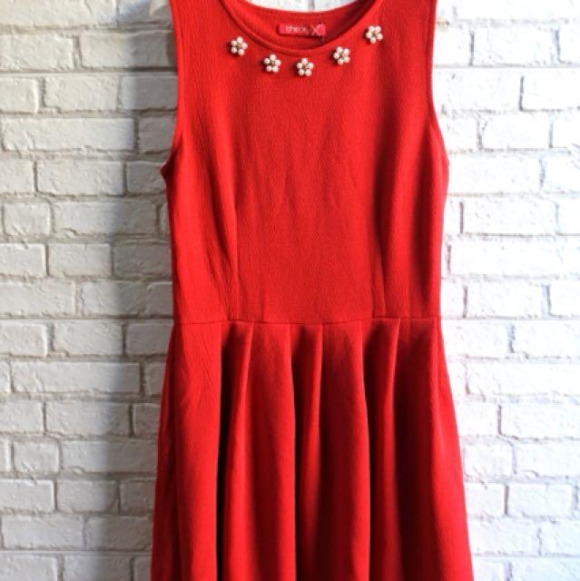 [NEW] Dress Crepe Merah Mission72