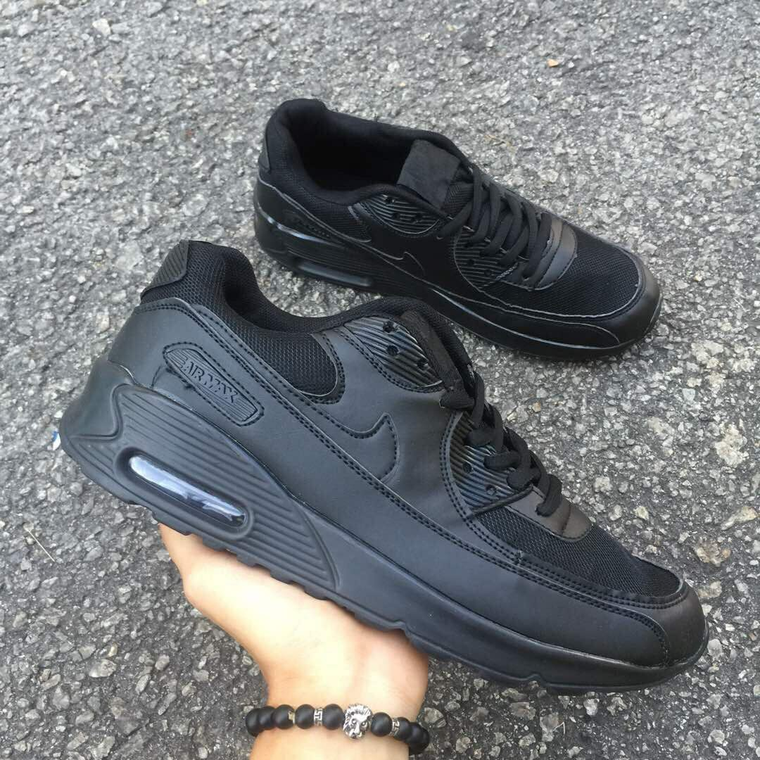 f2819339b6 low price kasut nike air max 01178 4e530; coupon code for nike air max 90  all black mens fashion footwear on carousell fe346 58d15