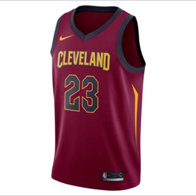 NIKE NBA 新版球衣 克里夫蘭騎士 喇叭詹 LBJ