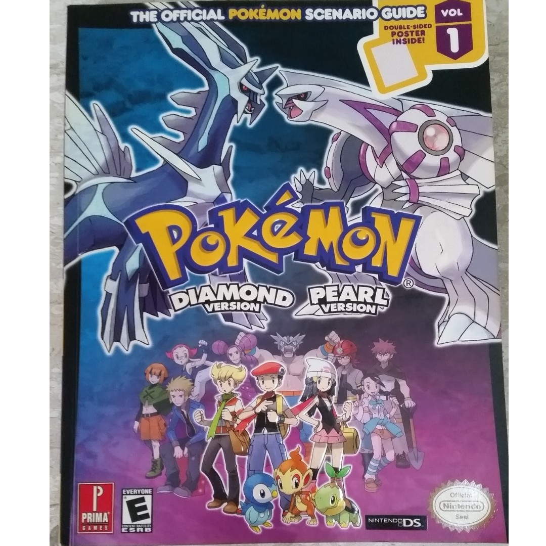 nintendo pokemon diamond pearl version strategy guide book toys rh sg carousell com All Pokemon Books Pokemon Card Book