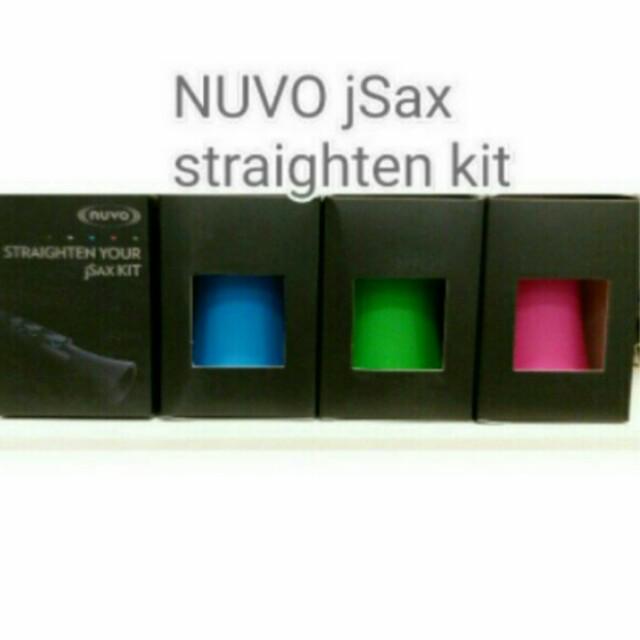 Nuvo Straighten Your jSax Kit (Black/pink/blue/green)