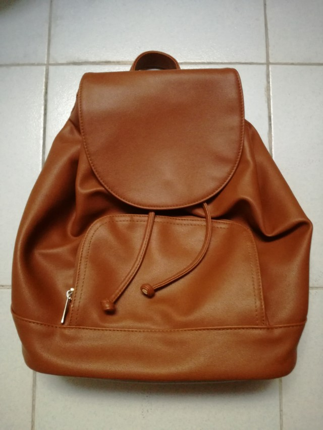 Parisian Leather Back Pack