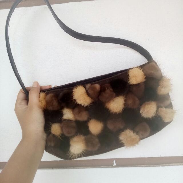 Party Bag Tas Pesta Pompom