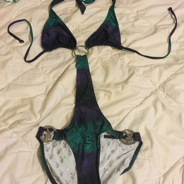 Play Boy Swimsuit Size 10