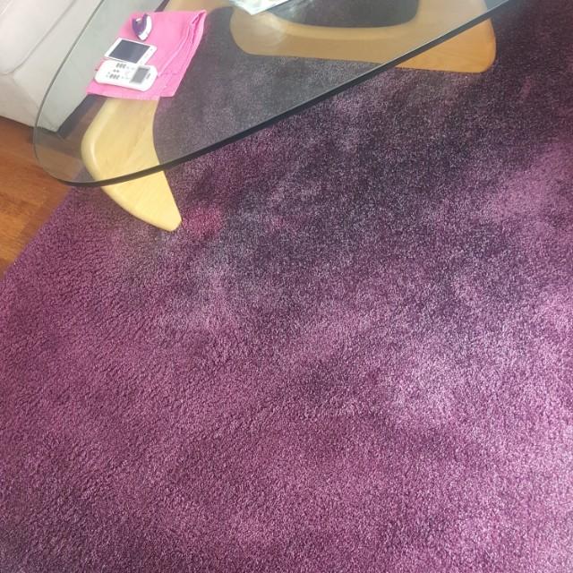 Purple rug from ikea 170×240