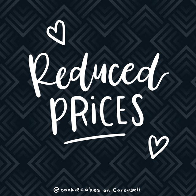 REDUCED PRICES!