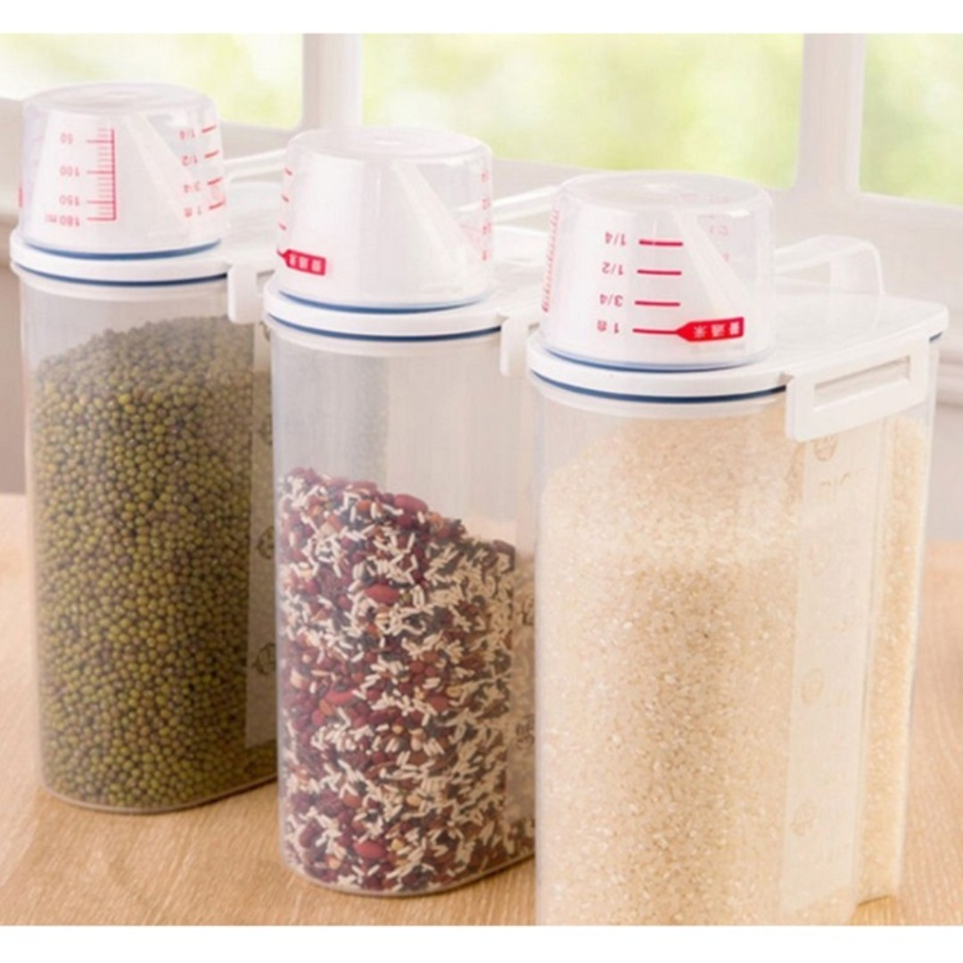 Rice Bean Storage Container Singapore Seller 100 Authentic