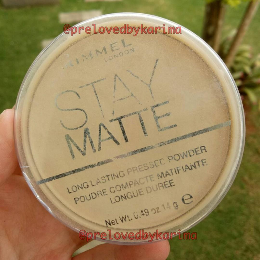 RIMMEL Stay Matte Pressed Powder - 001 Transparent / Transparant