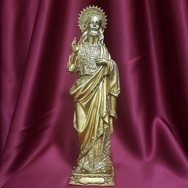 Sacred Heart of Jesus #Catholic #Christian, Vintage