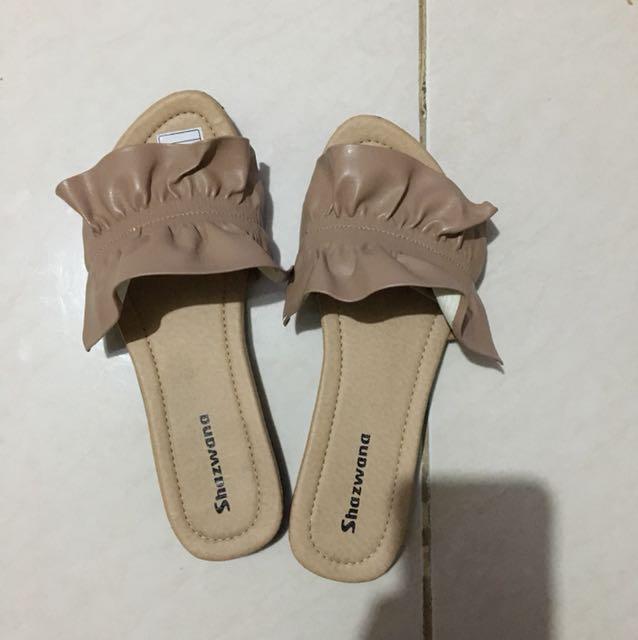 Sandal casual nude