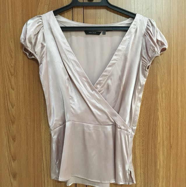 Semi Casual Zara Pink Top