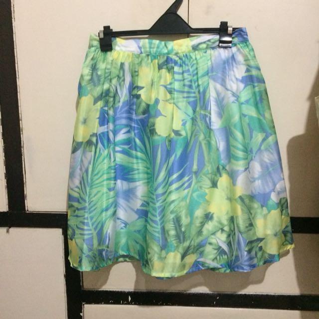 Shop Thrift Market Floral Skirt