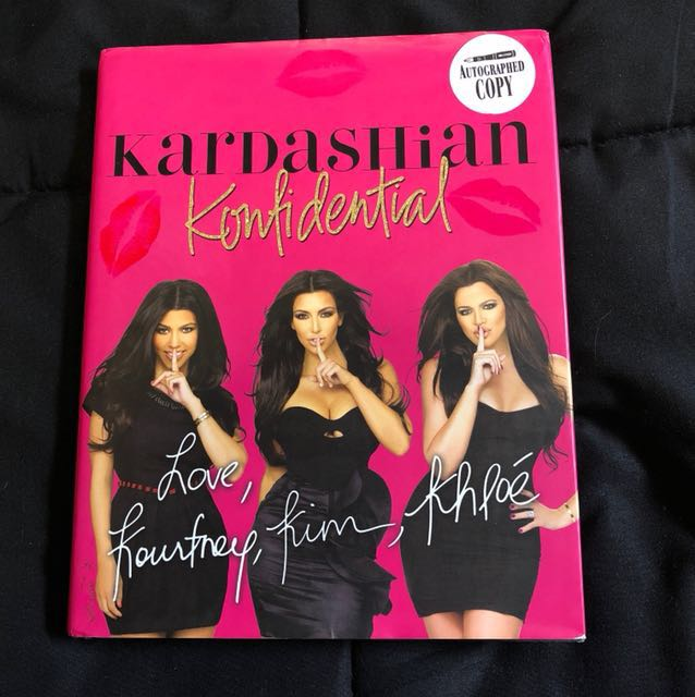 *SIGNED* Kardashian Konfidential