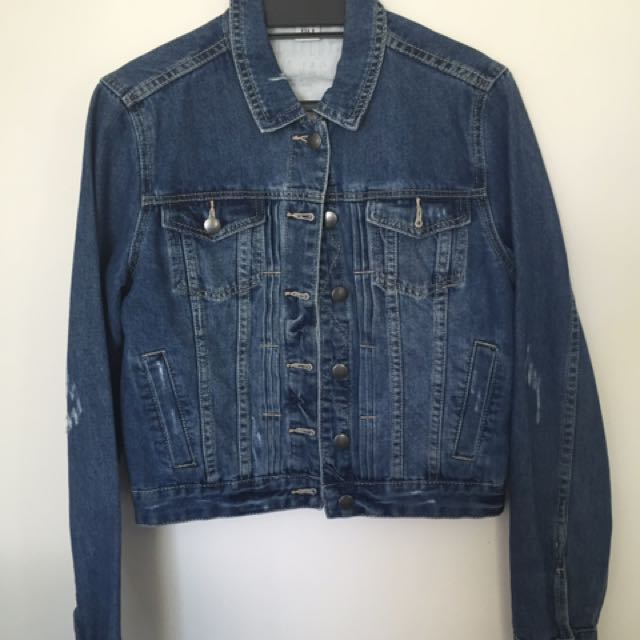 Size 12 Denim Jacket