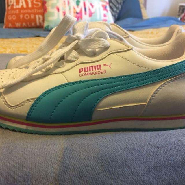 Size 6 puma joggers (worn once)