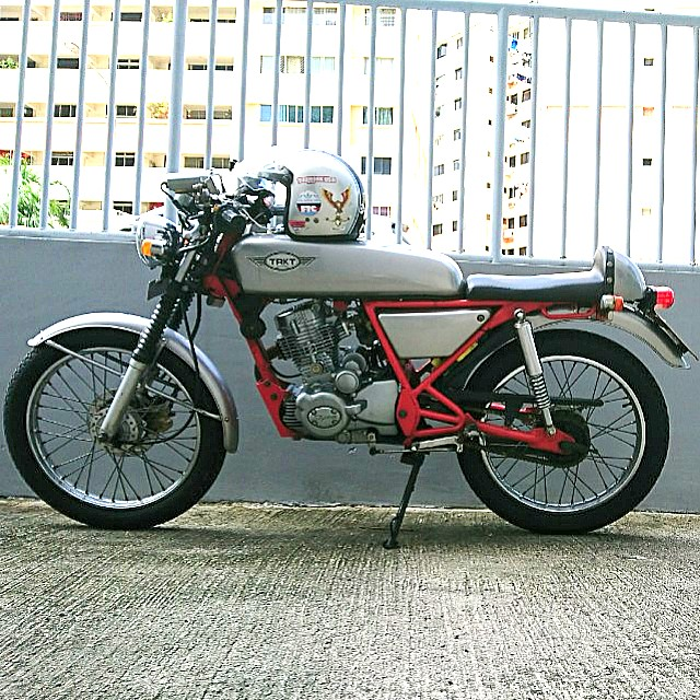 Skyteam Ace 125 Cafe Racer for sale, Motorbikes, Motorbikes for Sale, Class 2B on Carousell