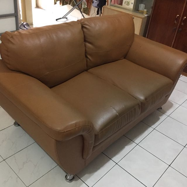 Sofa Kulit Informa Home Furniture On Carousell