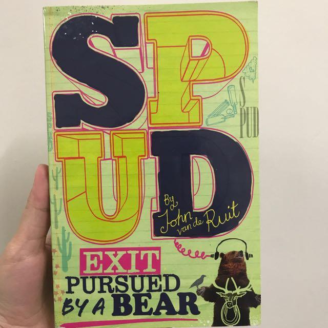 SPUD: Exit Pursued by a Bear by John van de Ruit