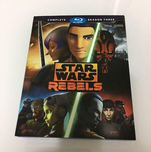Starwars Rebels Complete Season 3 Bluray Disc
