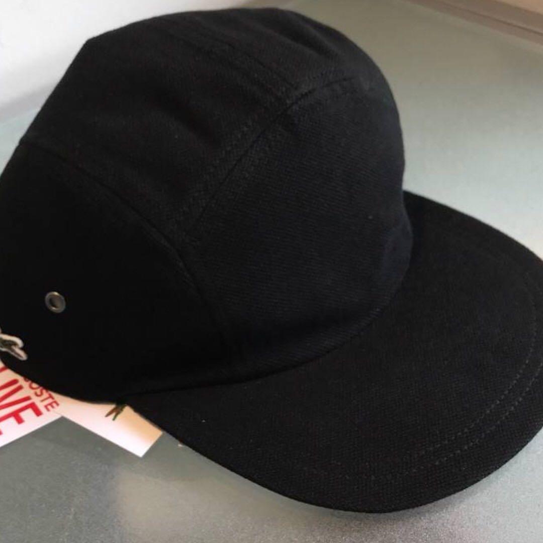 Supreme x Lacoste Pique Camp Hat 661a43aebb4