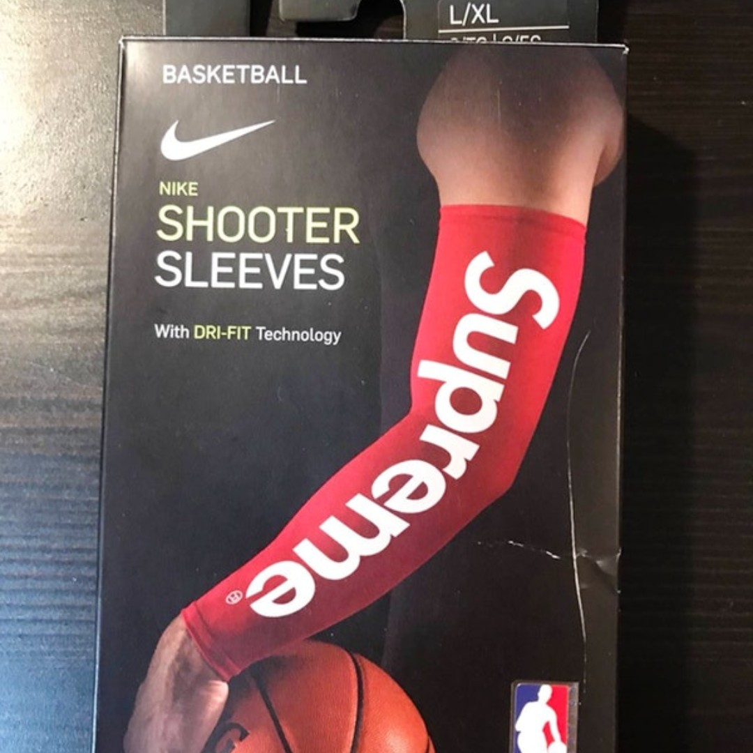 Supreme X Nike Nba Shooter Sleeves Men S Fashion Accessories On