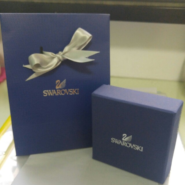 6405482092 Swarovski gift bag and box, Everything Else on Carousell