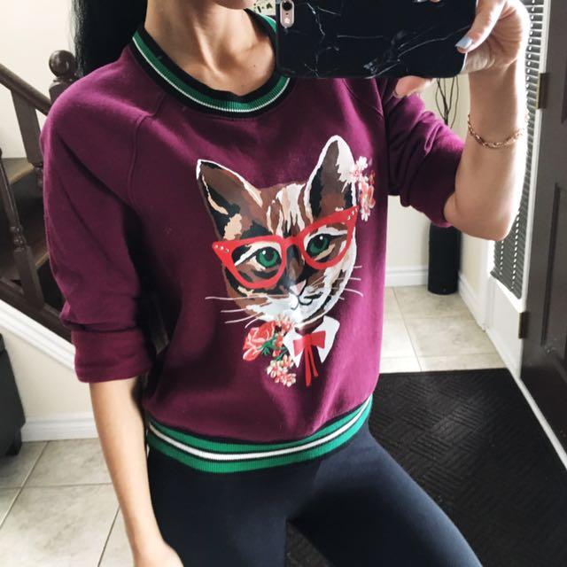 Sweatshirt size XS
