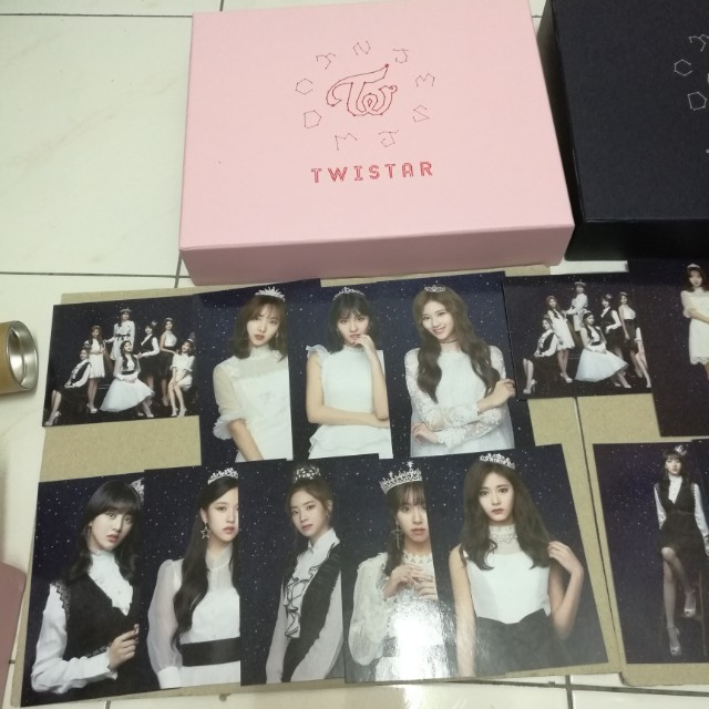 Twice Japan sg pink and black ver