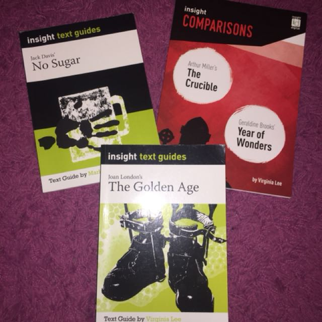 VCE English Text Guides