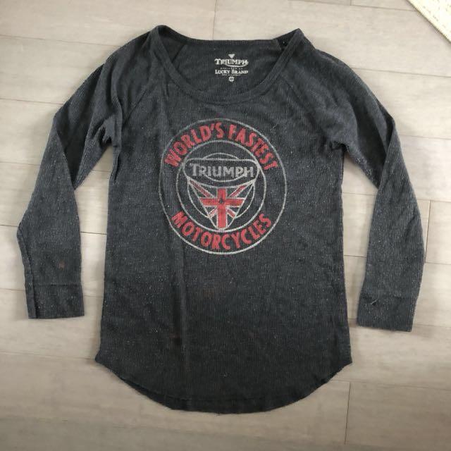 Vintage long sleeve T-shirt - XS