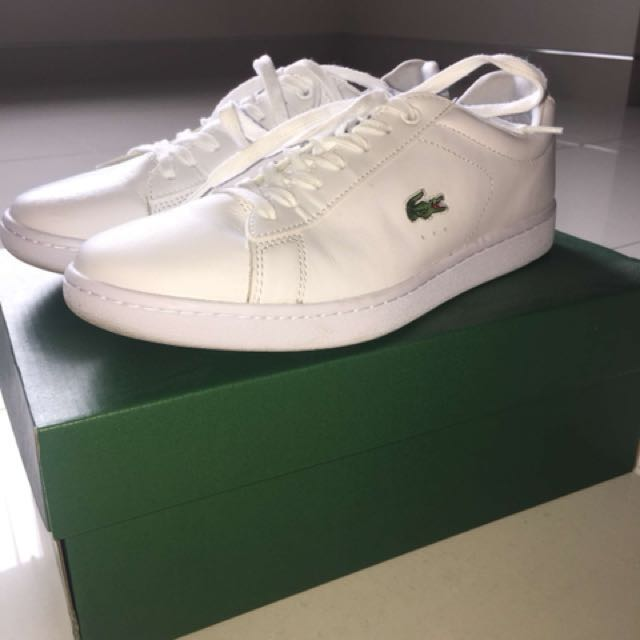 White Lacoste Shoes