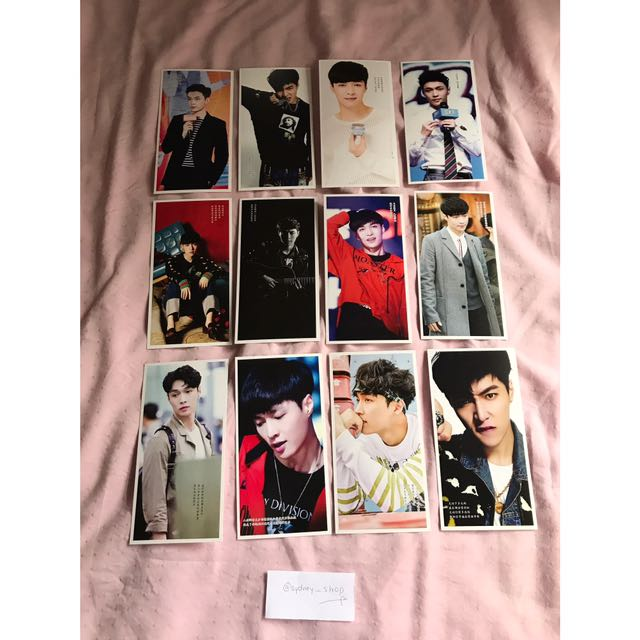 WTS EXO Lay Postcards