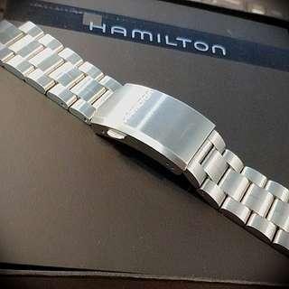 Hamilton khaki field metal bracelet 42mm Nego*