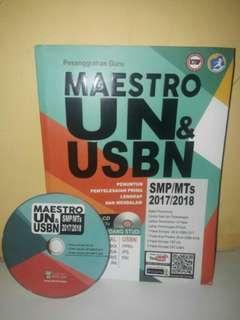 BUKU MAESTRO UN & USBN SMP/MTs 2017/2018