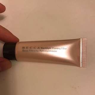 becca backlight priming filter face primer