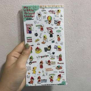 Korea Stickers Pack