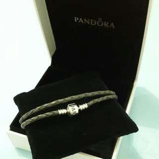 Pandora Men's Double Wrap Bracelet