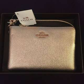 Coach wallet with chain