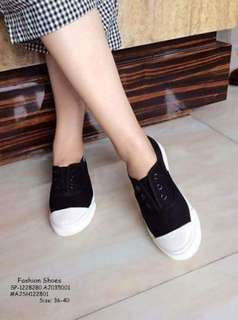 Fashion shoes size : 36-40 ⚛️adjust 1 size material : cloth / canvas