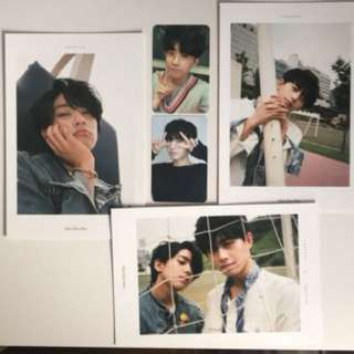 Longguo and Shihyun JBJ Postcard photocard