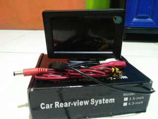 "Monitor 4,3""  car rear-view system"