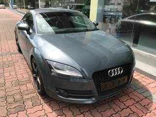 Audi TT TFSI Quattro  2.0L Turbocharged TFSI Engine 6 Speed Auto S-Tronic Gearbox 2008 18' BE Sports Rim By Breyton Status : 🇸🇬( S'PORE )  Excellent Condition  For Spare Parts Or Track Use.   Interested Click 👇 (CHAT)