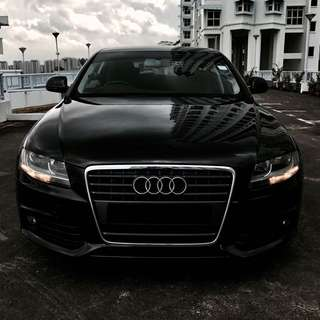 Audi A4 for UBER Grab