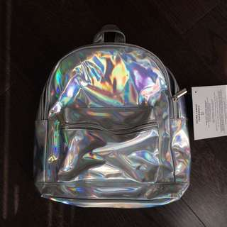 Ariana Grande holographic mini bag!